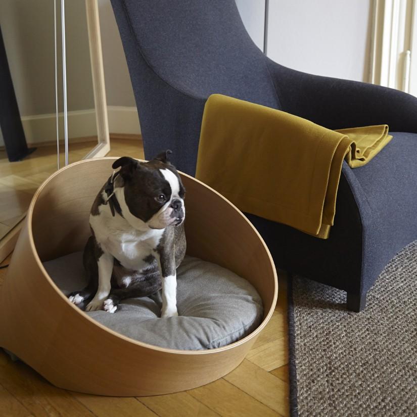 Lit luxe pour chien - COVO - Sable