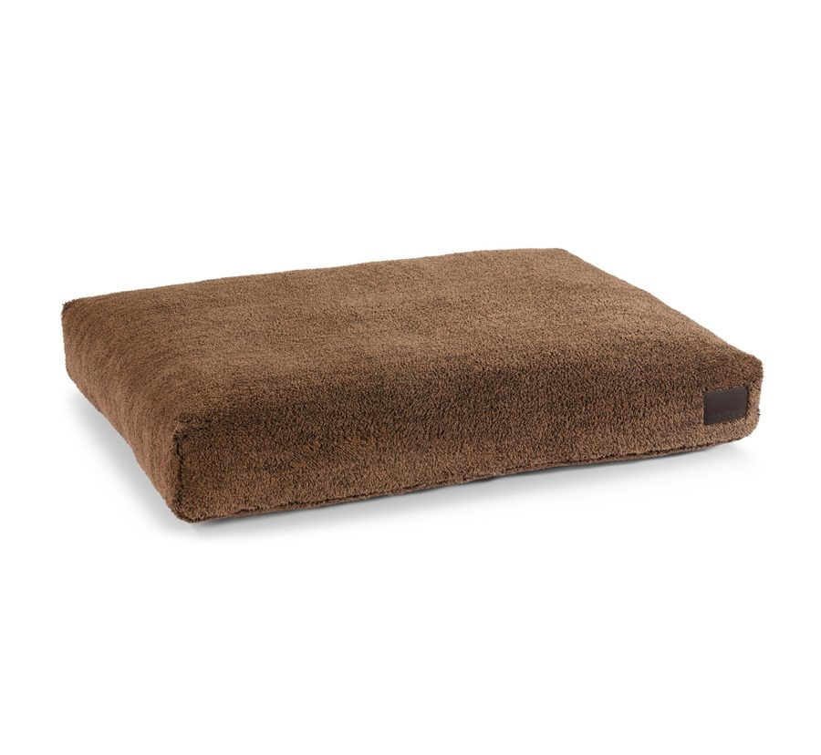 coussin design sherpa