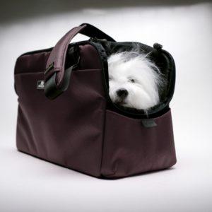Sac de voyage petit chien et chat SLEEPYPOD ATOM CHOCOLAT