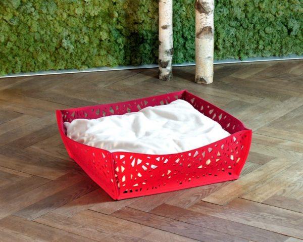 NIDO - Rouge - Panier chat