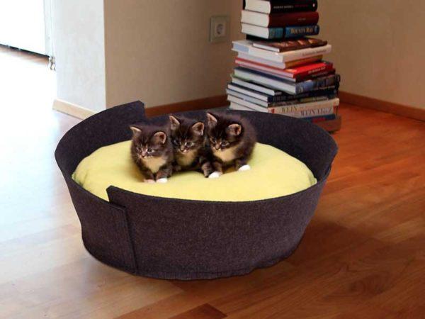 LIDO - Anthracite - Panier pour chien ou chat