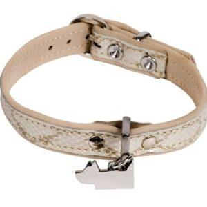 Collier en cuir design pour petit chien – SNAKE