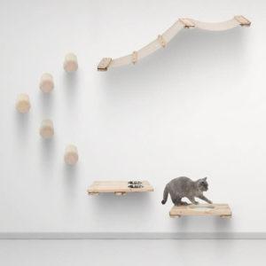 Arbre à chat mural modulable – KAAT3