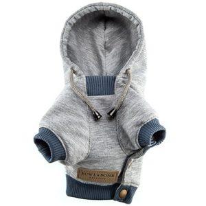 Sweatshirt pour chien – YOLO Gris