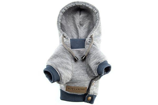Sweatshirt pour chien - YOLO Gris