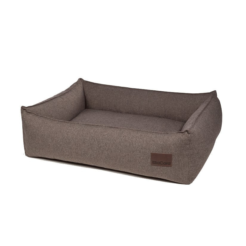 Corbeille luxe pour chien - NUBE Tabac