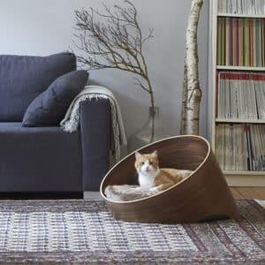 Meuble lit en bois de luxe pour chat – COVO