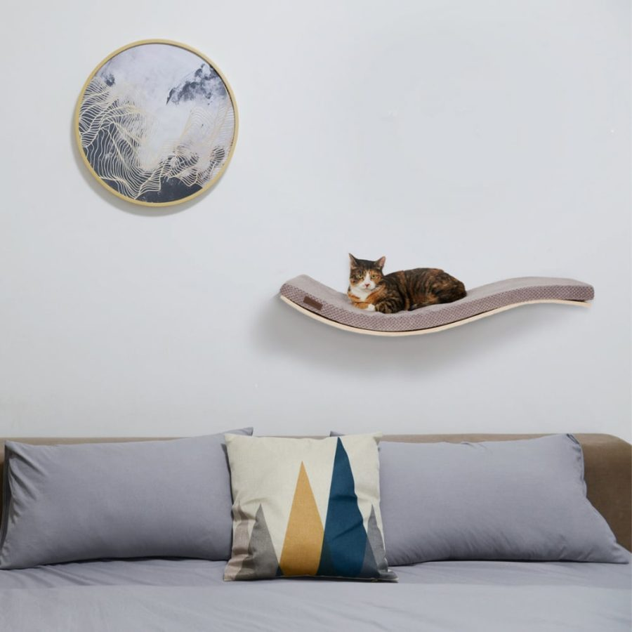 Arbre à chat mural design PREMIUM