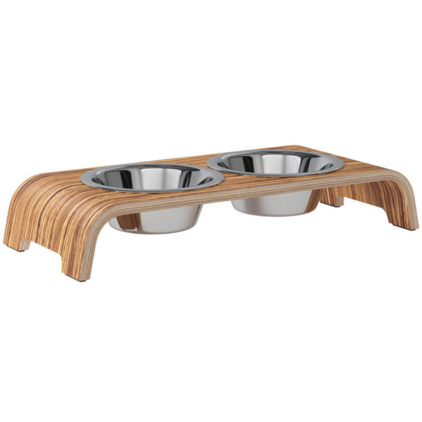 Gamelle double luxe petit chien - DOG BAR S