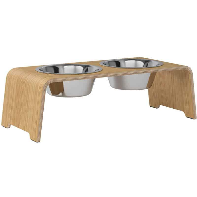 Gamelle double luxe pour chien - DOG BAR