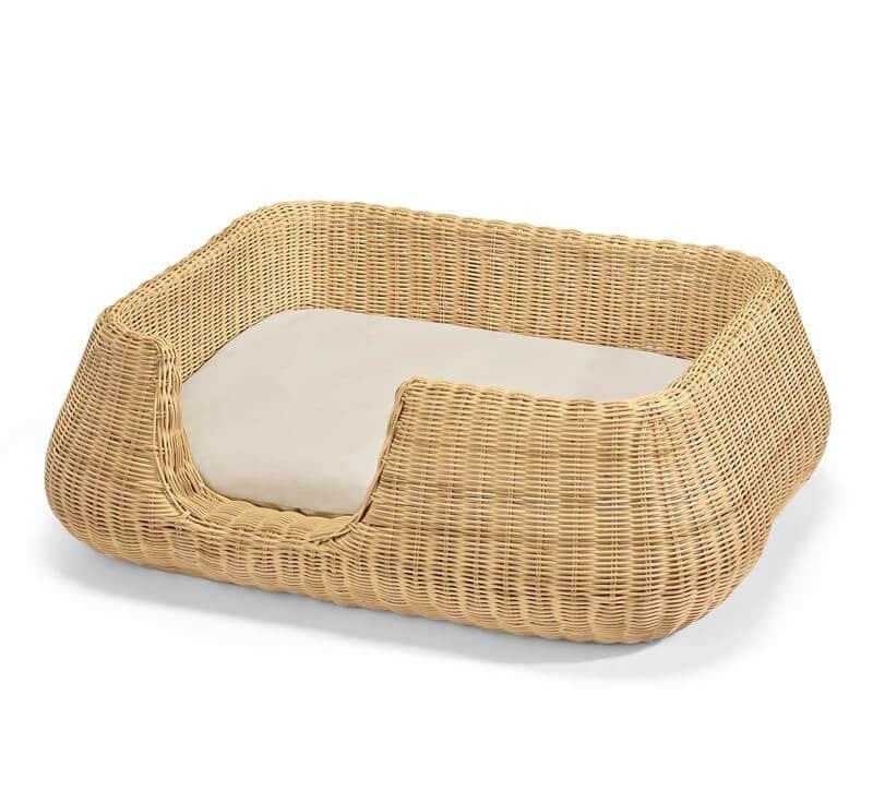 Panier pour chien en osier traditionnel - MIO BASKET