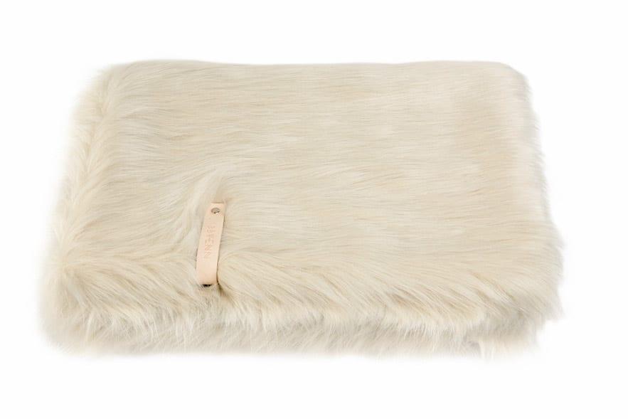 couverture pour chien blanc fora