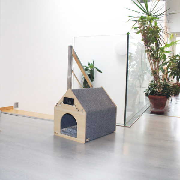 Niche design en bois pour chat - APAWTEMENT
