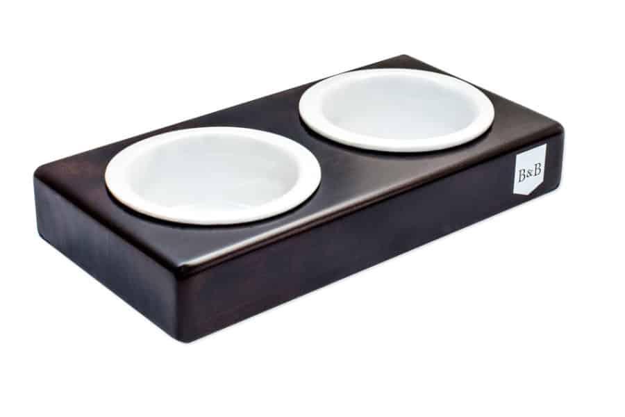 Gamelle double design en céramique pour chien - DUO CERAMIC