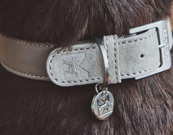 Collier en cuir et en daim de luxe - COMO