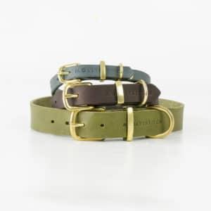 Collier en cuir de luxe pour chien – BUTTER