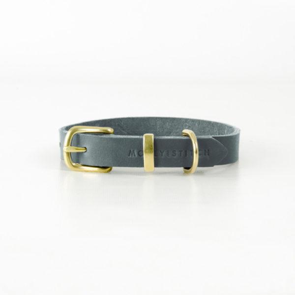 Collier en cuir de luxe pour chien - BUTTER
