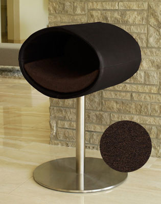Couchage Lit pour chat - RONDO STAND CUIR