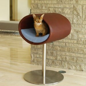 Couchage Lit pour chat – RONDO STAND CUIR