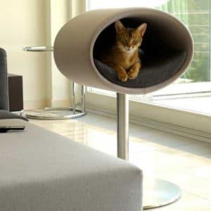Couchage lit pour chat – RONDO STAND FEUTRE