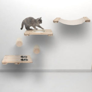Arbre à chat mural design – KAAT2