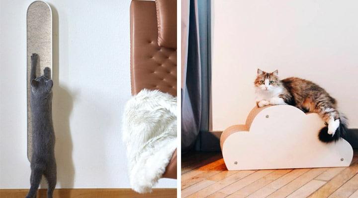 Les griffoirs indispensables pour chats