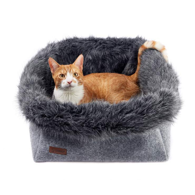 Panier design pour chat majesty