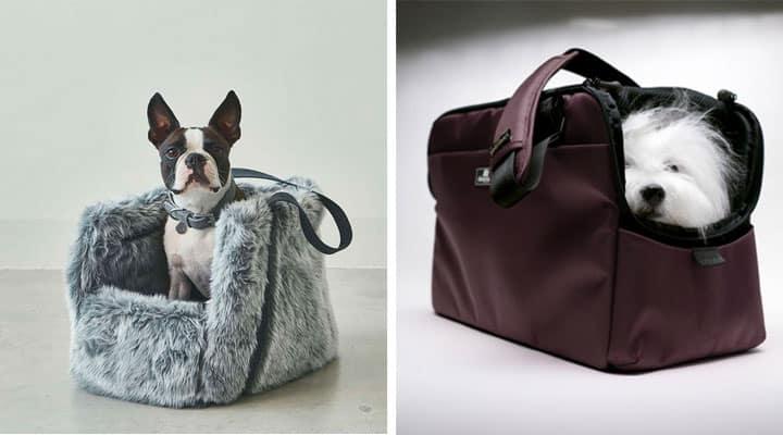 Tous les sacs de transport design pour chiens