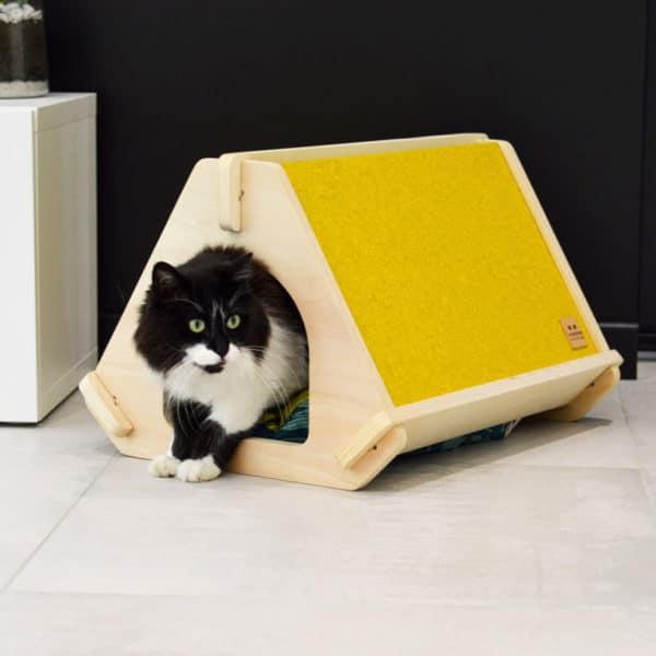 niche pour chat design tippaw