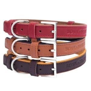 Collier en cuir design pour chien – MONACO