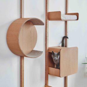 Arbre à chat mural design personnalisé – ALTO
