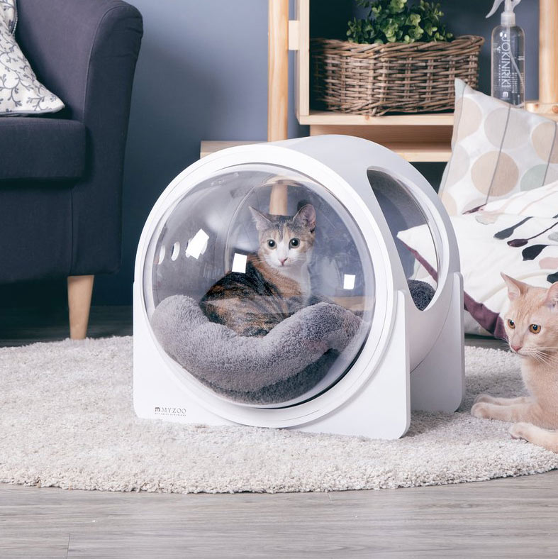 Niche pour chat alpha spaceship
