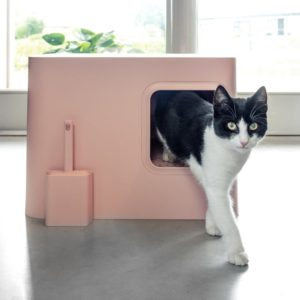 Litière design pour chat – Hoopo