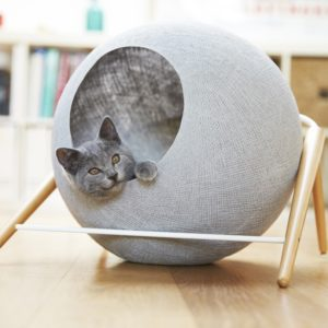 Niche ronde design pour chat – Ball