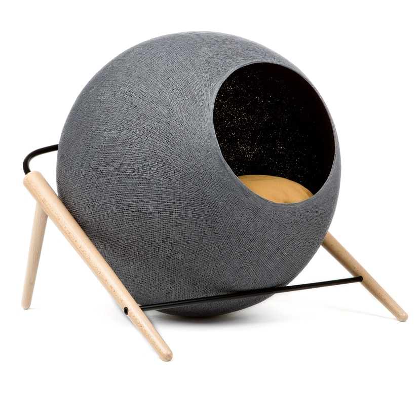 niche pour chat rond meyou ball