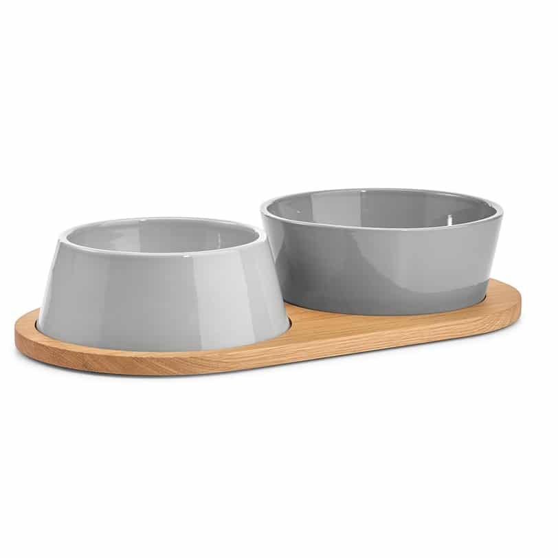 Gamelle en porcelaine pour chien design doppio