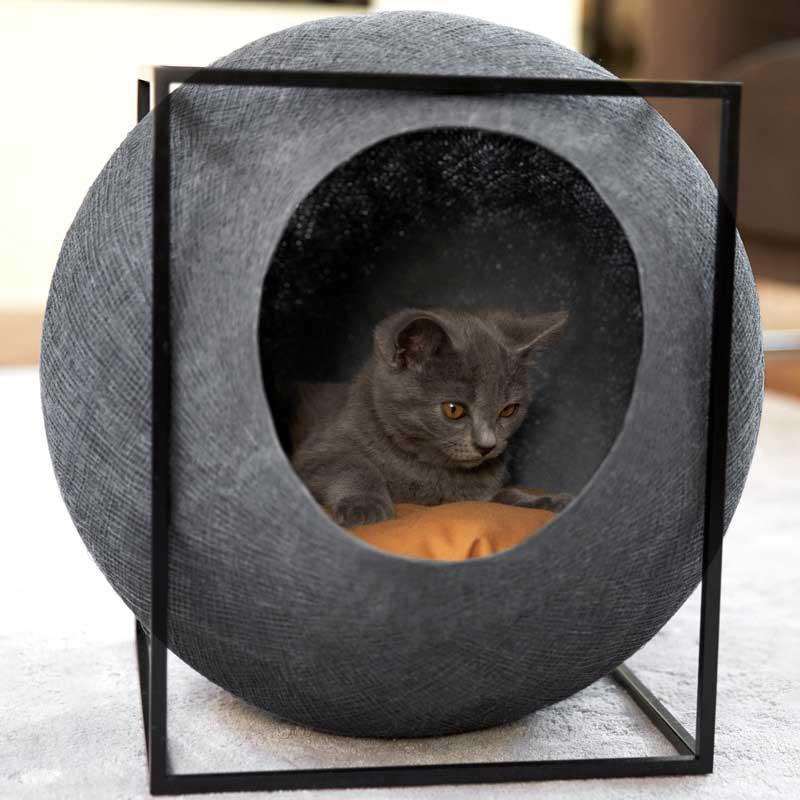 niche pour chat meyou cube