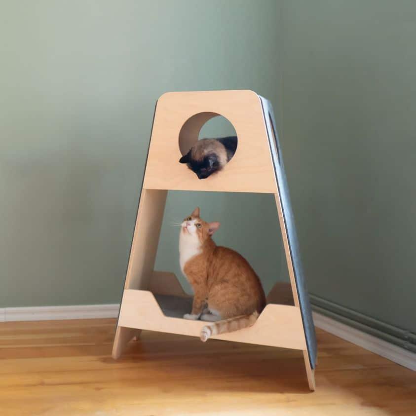 Tour griffoir haut de gamme pour chat