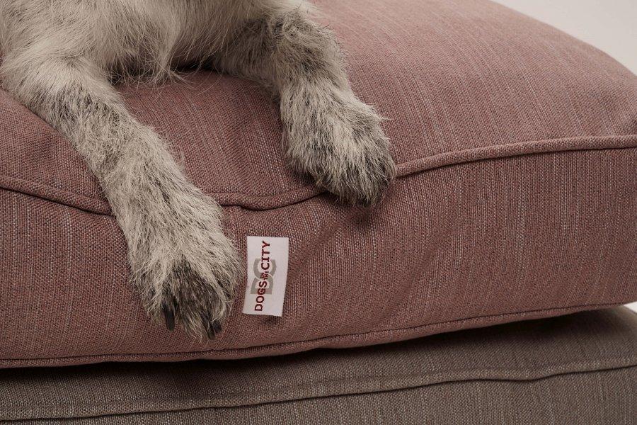Coussin recyclé pour chien Linus