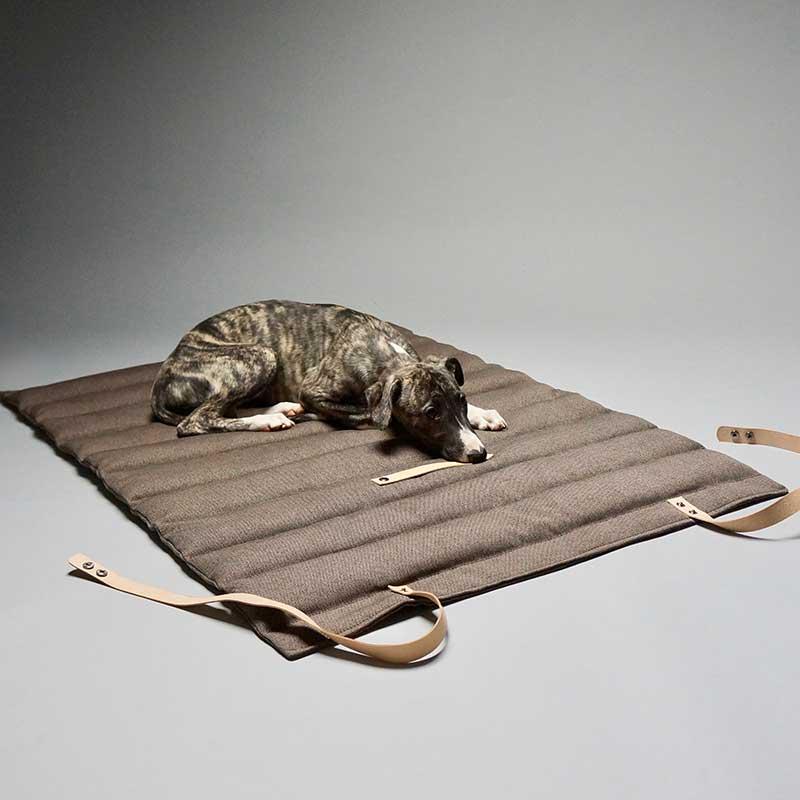 Tapis de voyage haut de gamme pour chien